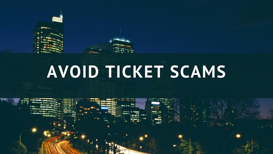 Avoid Ticket Scams on Kijiji, etc!