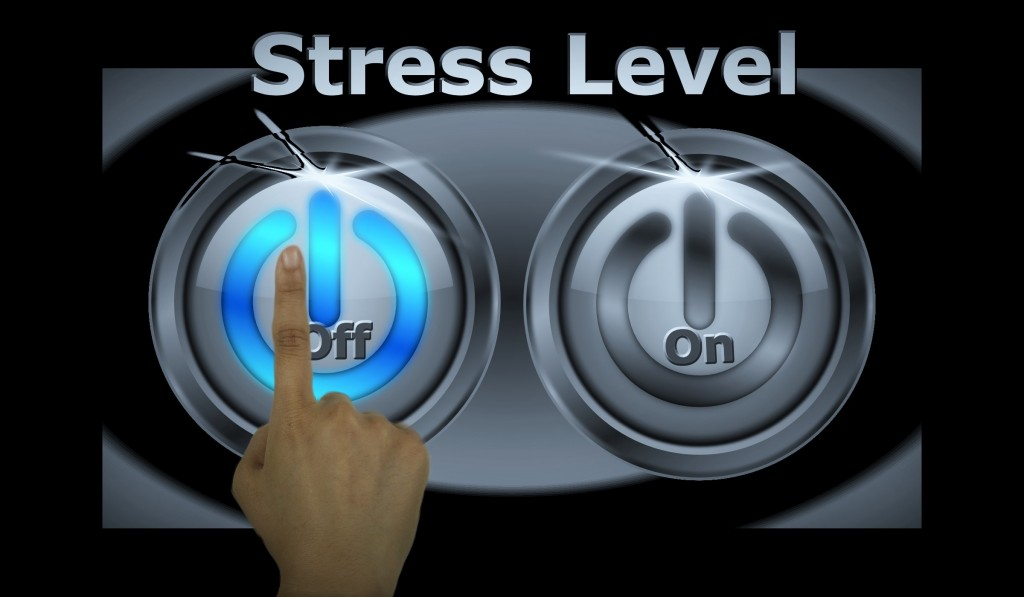 stress level button