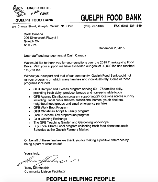 Guelph Food Bank