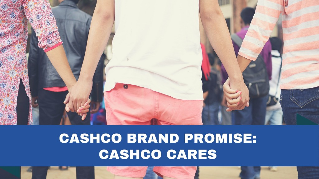 Cashco Brand Promise