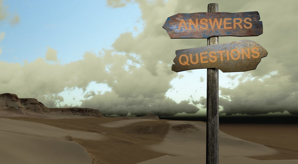REAL WORLD BANKING QUESTIONS You asked.  We answer.