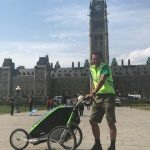 A man is walking across Canada: The Wandering Canuck celebrates Canada one step at a time