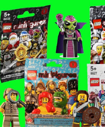 Lego mini figures blind bag