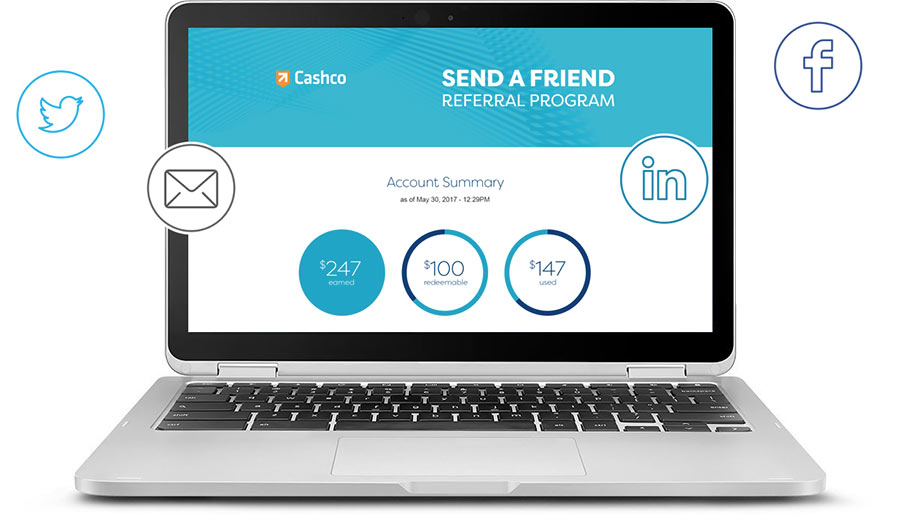 Send a Friend Referral Network | Cashco Financial